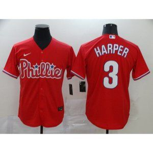 Philadelphia Phillies Bryce Harper Red Jersey